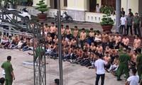 59 đối tượng bị bắt giữ
