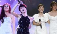 """Uyên Linh bồi hồi hội ngộ cùng một sân khấu với Văn Mai Hương sau 11 năm """"Vietnam Idol"""""""