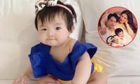 """Đông Nhi cho con gái hóa thân Bạch Tuyết, dân mạng thả tim vì """"bánh bao sữa"""" quá đáng yêu"""