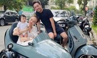 Chán siêu xe, Cường Đôla mua xe máy độc lạ 150 triệu đồng để chở vợ con đi dạo?