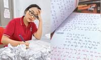 Viết tay đề cương ôn thi tốt nghiệp, Phương Mỹ Chi khiến netizen trầm trồ về độ tỉ mỉ