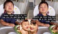 """Hòa Minzy chia sẻ cách chăm con, dỗ bé Bo nín khóc trong vòng """"một nốt nhạc"""""""
