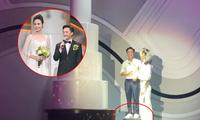 """Cường Đôla - Đàm Thu Trang hé lộ bí mật ngày cưới, cô dâu đi giày bệt để đỡ """"dìm"""" ông xã"""