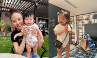 Lần đầu đeo túi hiệu của bé Suchin nhà Cường Đôla có gì đặc biệt mà ai cũng trầm trồ?