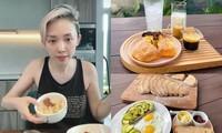 """Mùa giãn cách, Tóc Tiên từ """"Miss Rơi Bể"""" thành bà nội trợ đảm đang, chuẩn """"team yêu bếp"""""""
