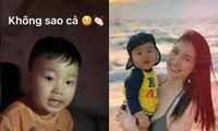 Hòa Minzy chia sẻ cách giúp bé Bo nín khóc, netizen trầm trồ về cách dạy con văn minh