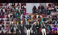 Hơn 120.000 fan K-Pop đã tương tác cùng nhóm SuperM trong concert trực tuyến
