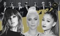 """Ariana Grande, Lady Gaga, Taylor Swift và BTS """"càn quét"""" danh sách đề cử MTV VMAs 2020"""