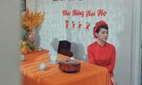 Sự thực về tấm ảnh Hòa Minzy mặc áo dài cưới trong lễ ăn hỏi đang khiến dân tình xôn xao