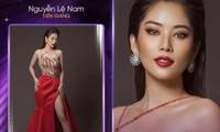 Chị gái sinh đôi của Nam Em là thí sinh đầu tiên dự thi Hoa hậu Hoàn Vũ Việt Nam 2021