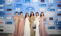 Dàn Hoa, Á hậu gợi cảm khoe sắc tại họp báo công bố Miss World Việt Nam
