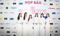 Dàn người đẹp khoe sắc tại Họp báo khởi động Hoa hậu Việt Nam 2020