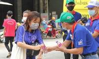 Đội hình 'Hỗ trợ y tế' túc trực điểm thi sẵn sàng hỗ trợ thí sinh