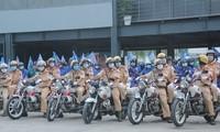 TPHCM ra quân đợt cao điểm đảm bảo trật tự, ATGT tại các giao lộ ùn tắc