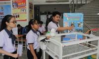 Nhiều sản phẩm phục vụ đời sống tranh tài Hội thi Tin học trẻ toàn quốc