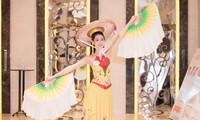 Thí sinh Hoa hậu Việt Nam 2020 trổ tài trong phần thi tài năng