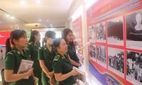 Triển lãm hình ảnh 90 năm tổ chức Đoàn và 45 năm lực lượng Thanh niên xung phong