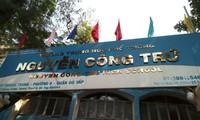 Trường THPT Nguyễn Công Trứ, quận Gò Vấp, TPHCM nơi xảy ra sự việc