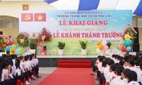 Trường THCS Phú Lợi nơi xảy ra sự việc