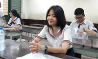 Thí sinh tham dự kỳ thi THPT Quốc gia tại TPHCM