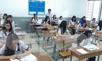 Thí sinh dự thi tại TPHCM
