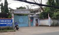 Trường THPT Võ Trường Toản nơi xảy ra vụ việc