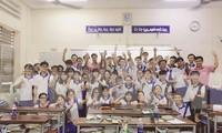 Lớp 12A3 của trường THCS- THPT Nguyễn Khuyên, TPHCM