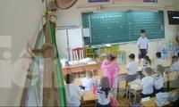 Hành vi đánh học sinh của cô giáo H bị phụ huynh đặt camera ghi lại