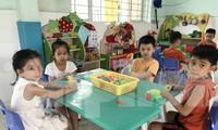 Trẻ mần non lớp lá TPHCM ngày đâu đi học trở lại