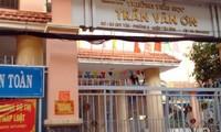 Hiệu trưởng trường tiểu học Trần Văn Ơn bị tạm đình chỉ công tác