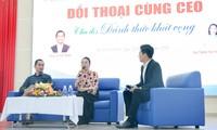 CEO Lê Hải Bình và CEO Trần Thị Thanh Hằng đối thoại với sinh viên ngày 22/12