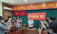 Ông Bùi Tấn Hải, Phó Chủ tịch UBND Quận 10 thông tin về vụ việc