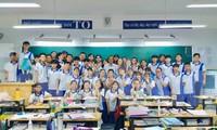 Lớp 12B1 nơi Trang, thủ khoa khối D7 của cả nước đang theo học