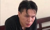 Châu Việt Cường tại cơ qaun công an. Ảnh: ANTĐ