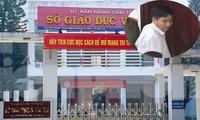 Bị can Trần Xuân Yên - Phó GĐ Sở GD&ĐT (ảnh nhỏ).