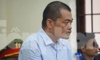 Bị cáo Nguyễn Thanh Hoài.