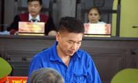 Bị cáo Trần Xuân Yến tại tòa.
