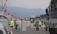 Từ 18h ngày 28/1, TP Hải Phòng kiểm soát phương tiện, người dân ra vào thành phố, tại khu vực giáp ranh Hải Dương, Quảng Ninh.