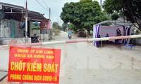 Phong tỏa xã có 2 nhân viên quán karaoke ở Hải Dương mắc COVID-19