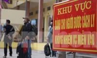 Huyện Yên Mỹ (Hưng Yên) đã lập chốt kiểm soát, cách ly 13 người liên quan thầy giáo dương tính SARS-CoV-2.