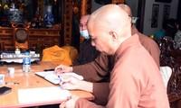 Đại đức Thích Bản Phúc - Trụ trì chùa Hưng Khánh (Q. Hải An, TP Hải Phòng) bị phạt giáo dưỡng 3 tháng.
