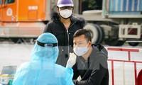 Nhiều người liên quan Bệnh viện GTVT Hải Phòng tới khai báo dịch tễ sau khi phát hiện ca mắc COVID-19 ngày 22/2.