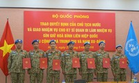 Thêm 7 sĩ quan Việt Nam đi gìn giữ hòa bình