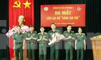 Lãnh đạo Lữ đoàn 1 chúc mừng Ban chủ nhiệm Câu lạc bộ