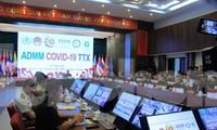 Quân y ASEAN diễn tập 3 kịch bản ứng phó COVID-19