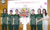 Bổ nhiệm trung tá Ninh Thu Trang giữ chức vụ Phó Tư lệnh Binh đoàn 11
