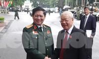 Tổng Bí thư, Chủ tịch nước Nguyễn Phú Trọng dự và chỉ đạo Đại hội Đảng bộ Quân đội
