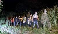 Biên phòng phát hiện hơn 2.800 người nhập cảnh trái phép