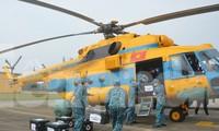 Lực lượng Không quân tham gia diễn tập ứng phó tình huống 30 nghìn người mắc COVID-19, tháng 3/2020