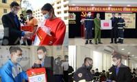 Lãnh đạo T.Ư Đoàn chúc Tết chiến sĩ phòng cháy chữa cháy, sinh viên, du học sinh